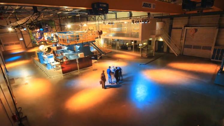 Construction of fabrication hall