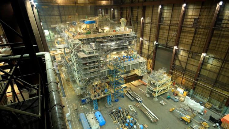 Montrose fabrication progress