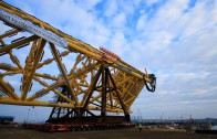 Load out Maersk Culzean jacket
