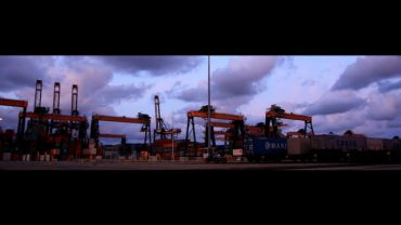 From Maasvlakte II to Germany in 240 seconds